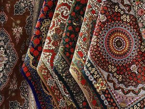 Persian famous rugs and carpet in iran
