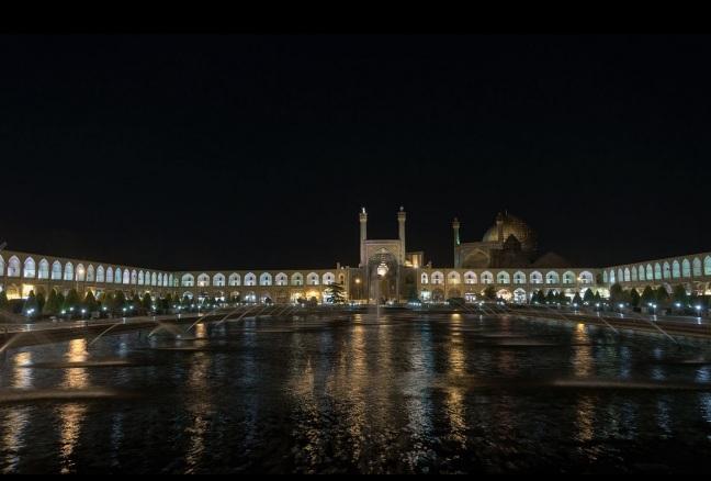imam shah square iran esfahan
