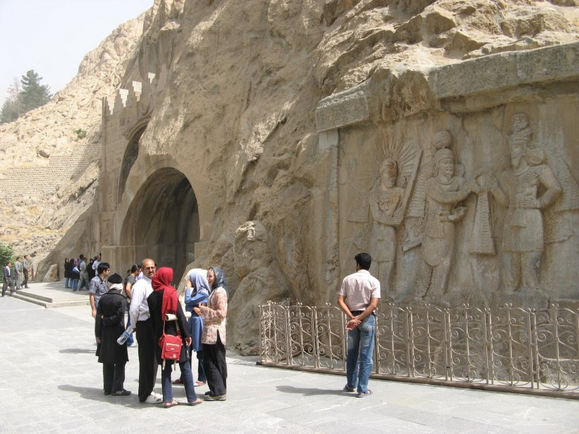 bistun iran travel kermanshah