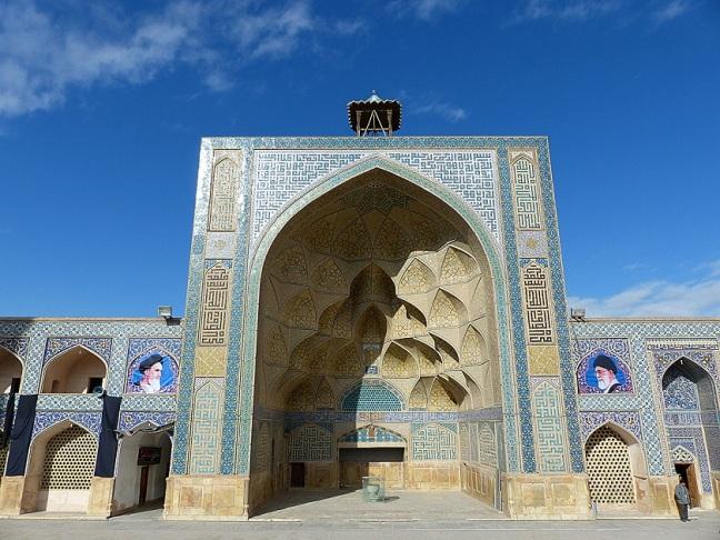 jameh mosque isfahan iran