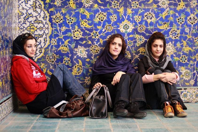 Các cô gái bản địa iran
